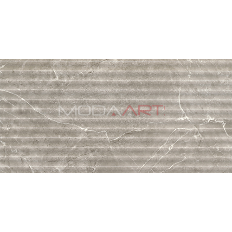 Seramik 30X60cm Imperial Dekor Fon Gri koli 1,44m2