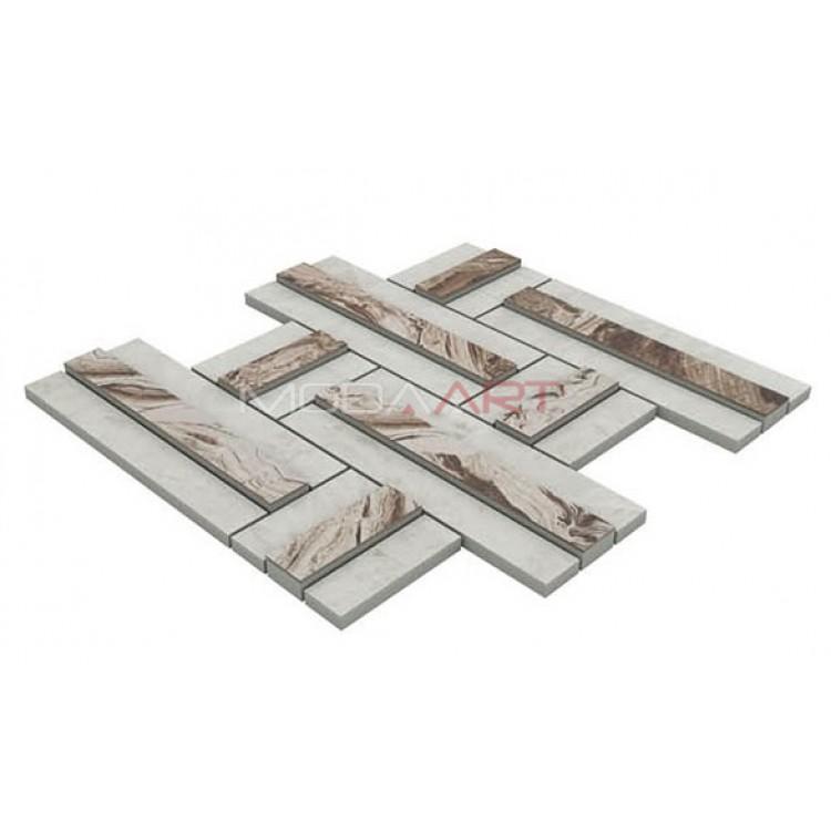 Seramik Mozaik 3D Lapis ES-3D-201