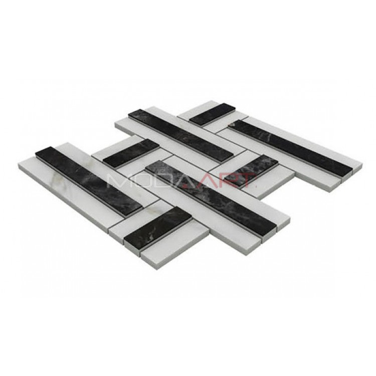 Seramik Mozaik 3D Lapis ES-3D-204