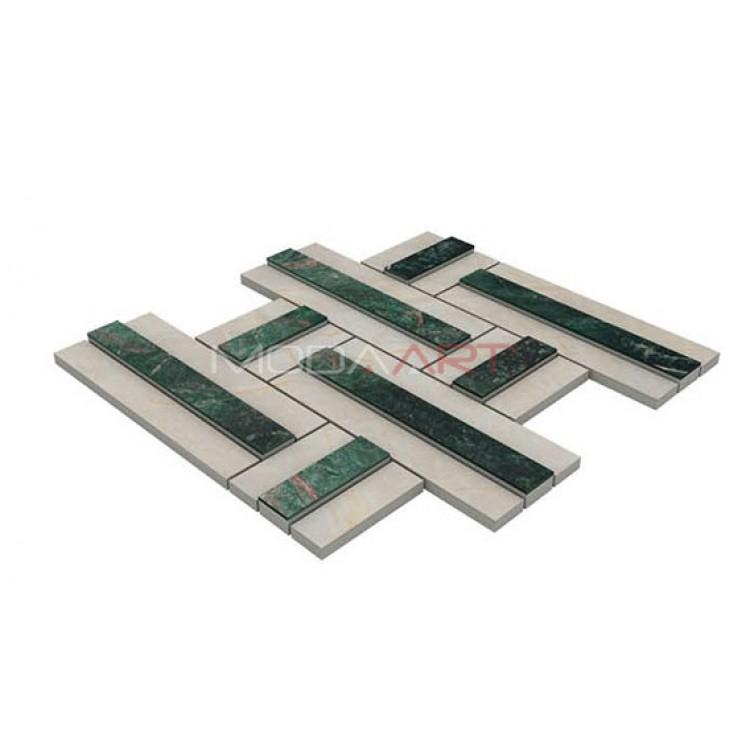 Seramik Mozaik 3D Lapis ES-3D-205