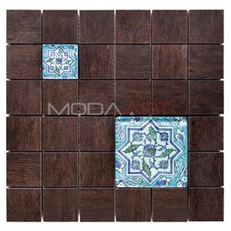 Seramik Mozaik Wooden Faince ES-WF-105