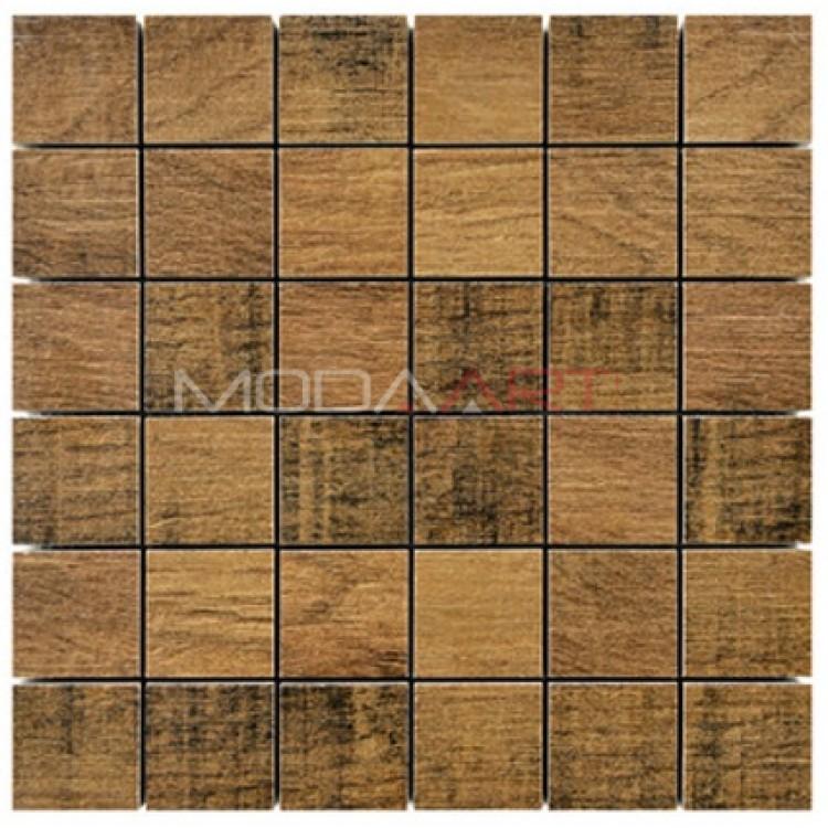 Seramik Mozaik Wooden ES-WO-101 48x48mm