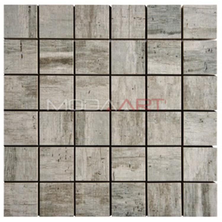 Seramik Mozaik Wooden ES-WO-107 48x48mm
