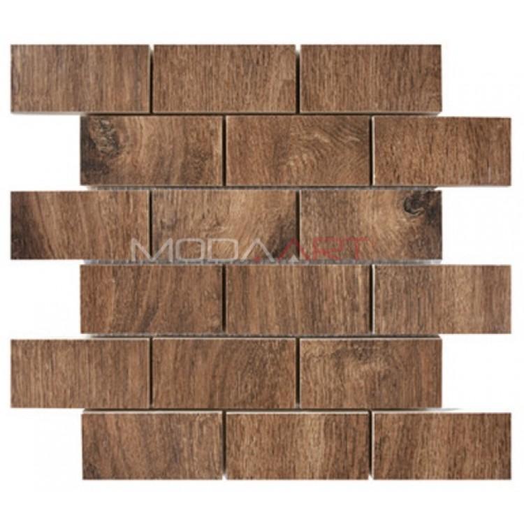 Seramik Mozaik Wooden ES-WO-201 48x98mm