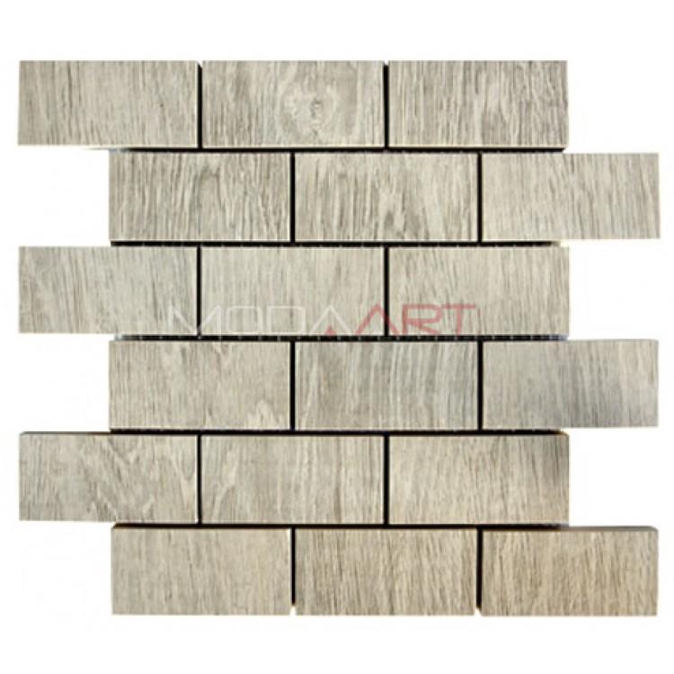 Seramik Mozaik Wooden ES-WO-203 48x98mm