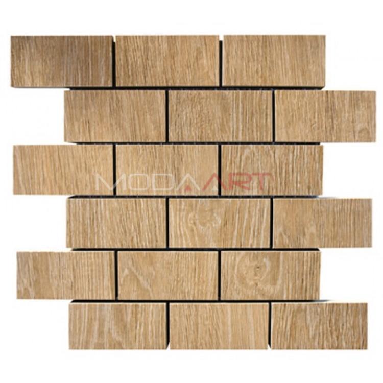 Seramik Mozaik Wooden ES-WO-204 48x98mm