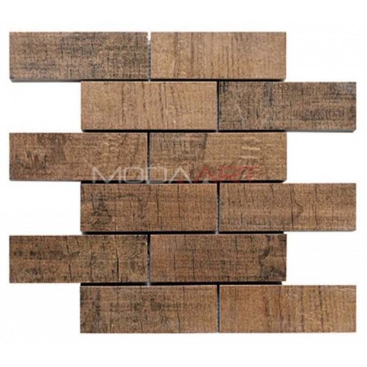 Seramik Mozaik Wooden ES-WO-301 48x98mm
