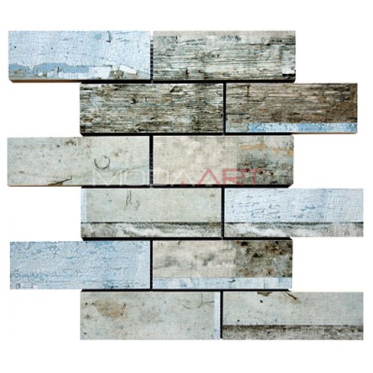 Seramik Mozaik Wooden ES-WO-302 48x98mm