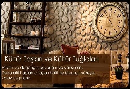 Dekoratif Doğal Kültür Taşlar